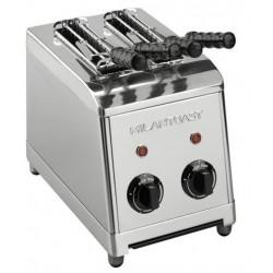 Milan tosti apparaat 2 tangs RVS