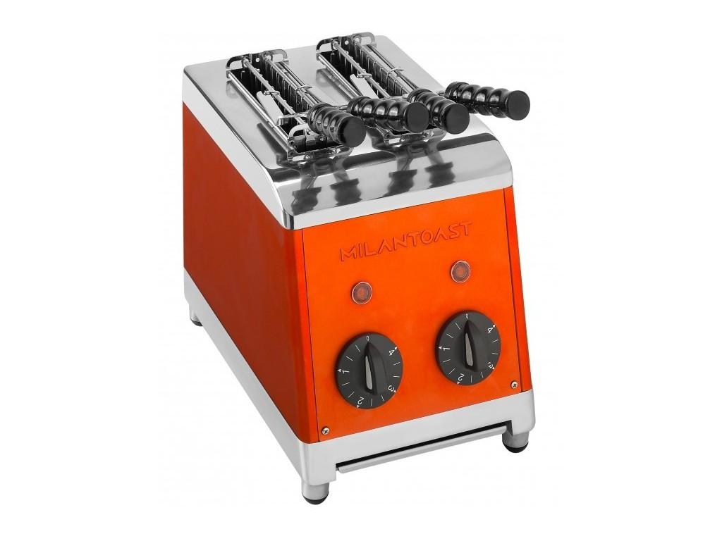 Milan tosti apparaat 2 tangs Oranje