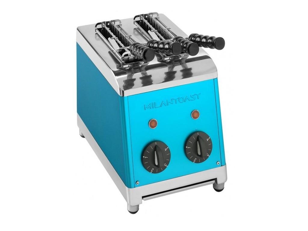 Milan tosti apparaat 2 tangs Blauw