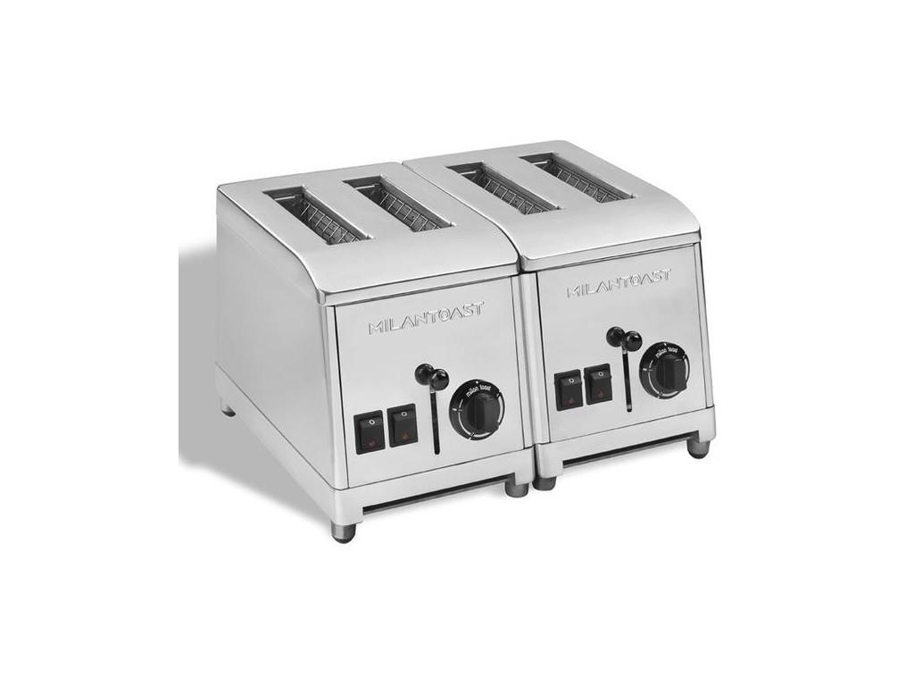 Milan Toaster 4 gleuven